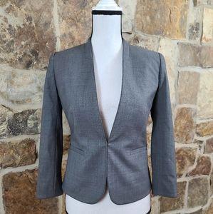 NWT J Crew 0P 0 Wool Bi Stretch Blazer Jacket